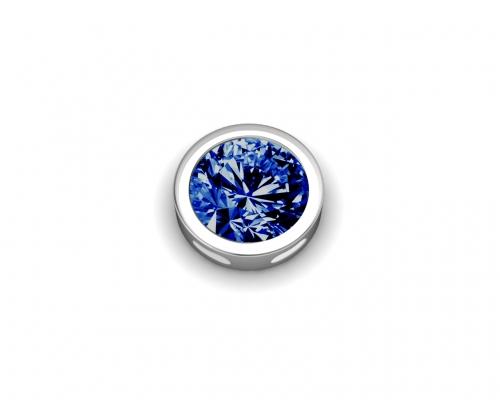 Key Moments September Birthstone Deep Blue Stone Element 8KM-E00095