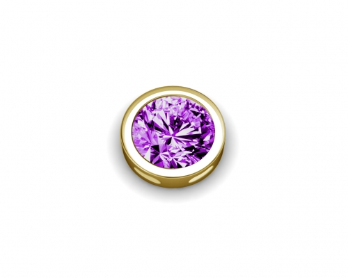 Key Moments February Birthstone Deep Purple Element 8KM-E00154
