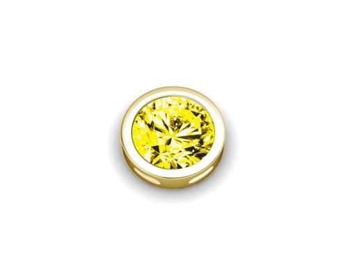 Key Moments Birthstone November Yellow Stone Element 8KM-E00163