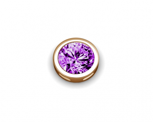 Key Moments February Birthstone Deep Purple Element 8KM-E00166