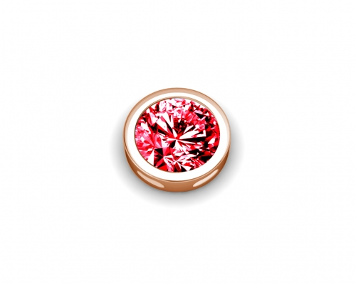 Key Moments July Birthstone Red Stone Element 8KM-E00171