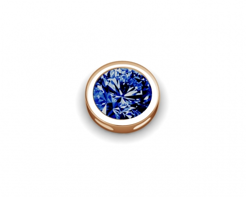 Key Moments September Birthstone Deep Blue Stone Element 8KM-E00173
