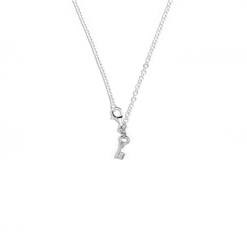 Key Moments 50 cm Silver Belcher Necklace 8KM-N00001