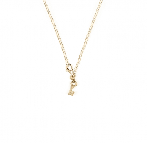 Key Moments 50 cm Gold Belcher Necklace 8KM-N00007