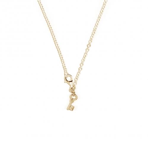Key Moments 70 cm Gold Belcher Necklace 8KM-N00008