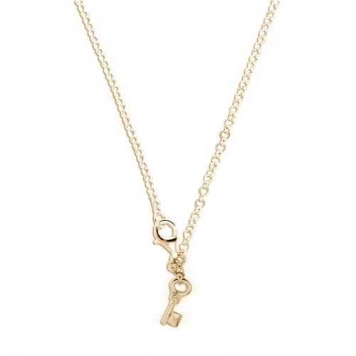 Key Moments 90 cm Gold Belcher Necklace 8KM-N00009