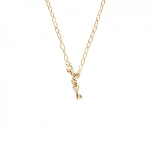 Key Moments 50 cm Gold Diamond Shape Necklace 8KM-N00010