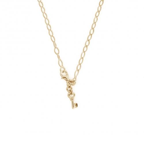 Key Moments 70 cm Gold Diamond Shape Necklace 8KM-N00011