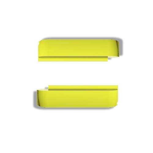 Wize and Ope Fluorescent Yellow Interchangeable Plastic Slides SL0014