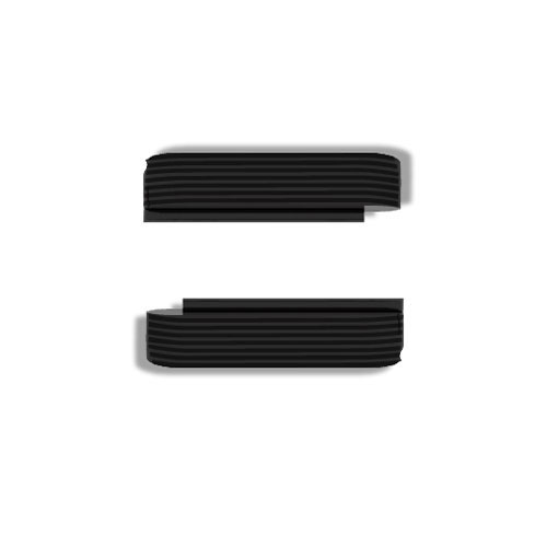 Wize and Ope Black Waves Exchangeable Plastic Slides SL065