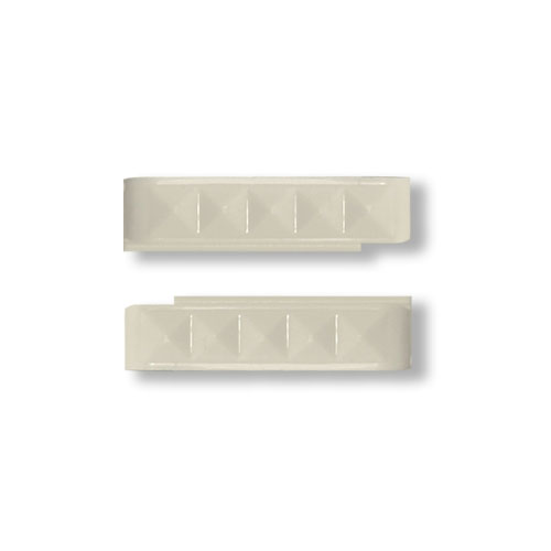Wize and Ope White Studs Interchangeable Plastic Slides SL088