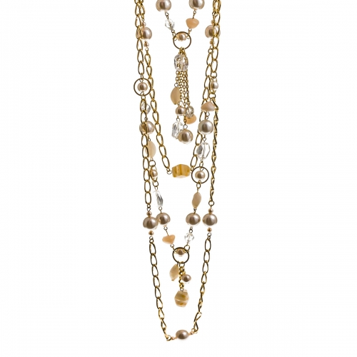 Nicky Vankets Multi Chain Necklace