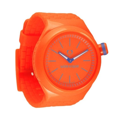 Wize and Ope Club  Orange Shuttle Watch SH-CL-10