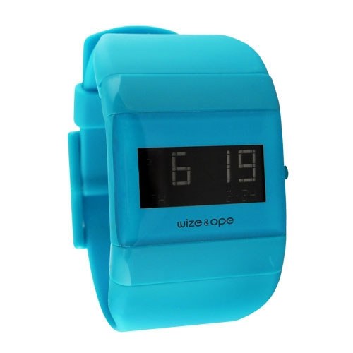 Wize and Ope Classic  Blue Digital  Watch WO-ALL-10