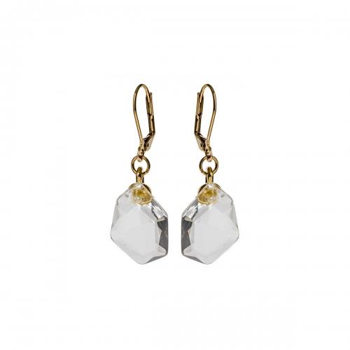 Nicky Vankets White Dangle Earrings