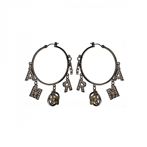 Nicky Vanket Amore Hoop Earrings