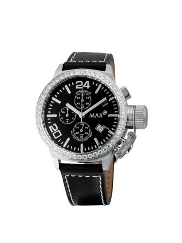 Max classic chrono 36mm - CZ - black