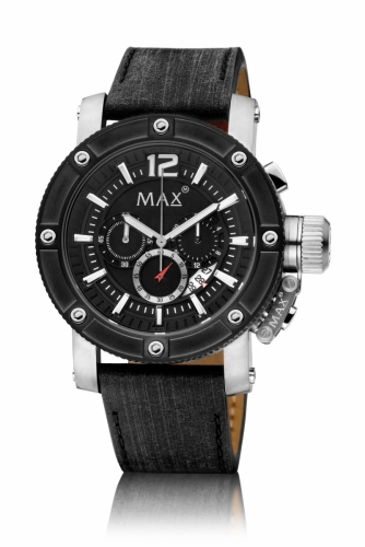 Max Chronograph Watch 47MM IPS+IPB Date 10ATM