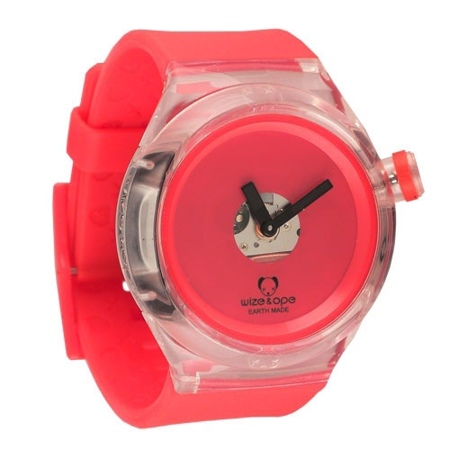 Wize and Ope Good Ghost  Red Shuttle Watch SH-GHO-3