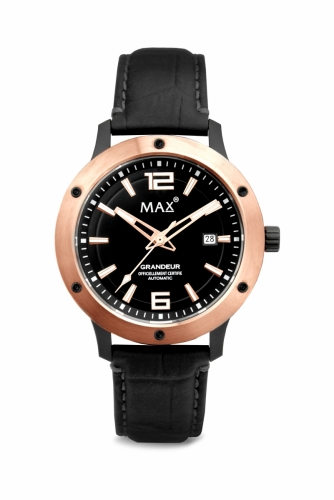 Max Grandeur IPR/Black 42mm Automatic 5ATM