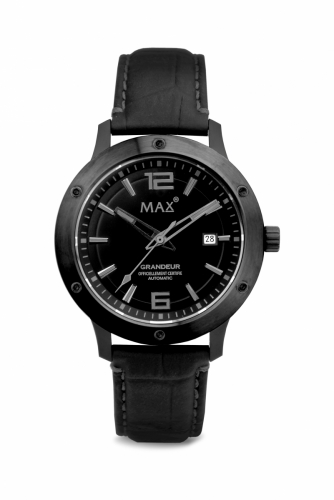 Max Grandeur IPB/Black 42mm Automatic 5ATM