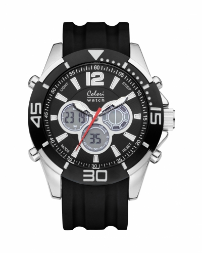 Colori Anadigi Watch 47 IPS/Black