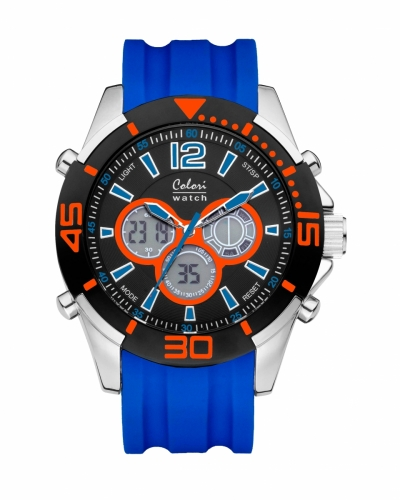 Colori Anadigi Watch 47 IPS/Blue/Orange