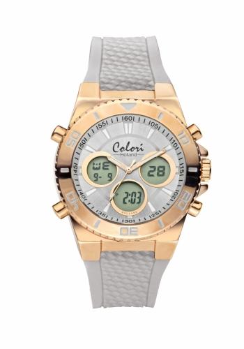 Colori Anadigi Watch 43 IPR/Grey