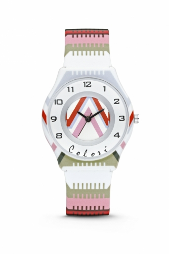 Colori Kidswatch 34MM Stripes 3ATM