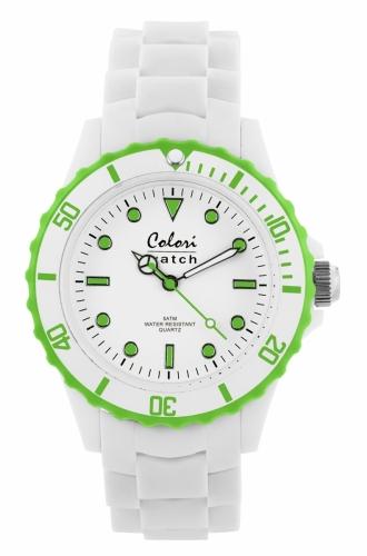 Colori Watch 40 White/Lime green
