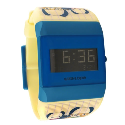 wize and ope low rider cream and blue digital watch wo lr 3 wo lr 3. Black Bedroom Furniture Sets. Home Design Ideas