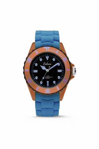 Colori Watch 44 Blue/Orange 5ATM