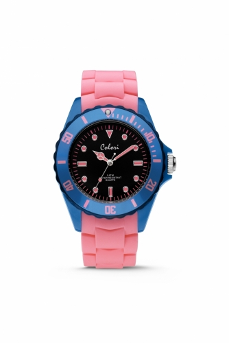 Colori Watch 44 Pink/Blue 5ATM