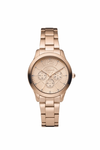 Colori Watch 30MM All Metal Rose Gold