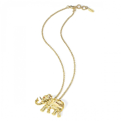 Just Cavalli Animals Gold Elephant Pendant