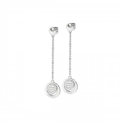 Just Cavalli Oasi Silver Earrings