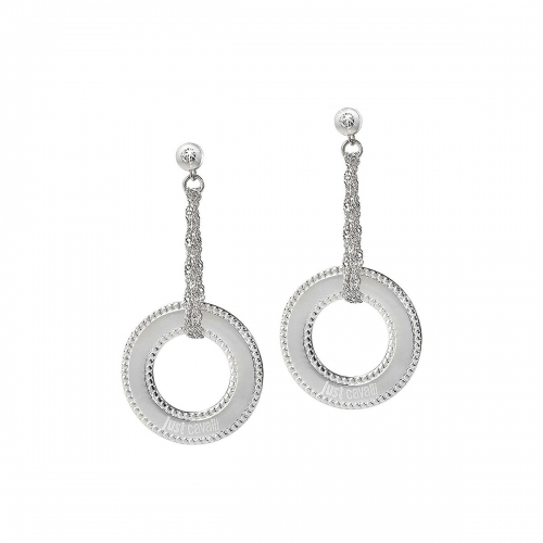 Just Cavalli Coins Earrings