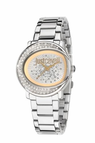 EX-DISPLAY Just Cavalli Silver Watch Lac R7253186502-EXD