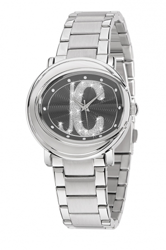 Just Cavalli Lac Watch Black Dial and Stainless Steel Bracelet R7253186525-EXD