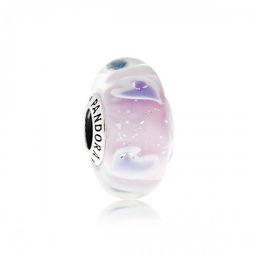 Pandora Plentiful Hearts Murano Glass & Silver Charm 796599CZ