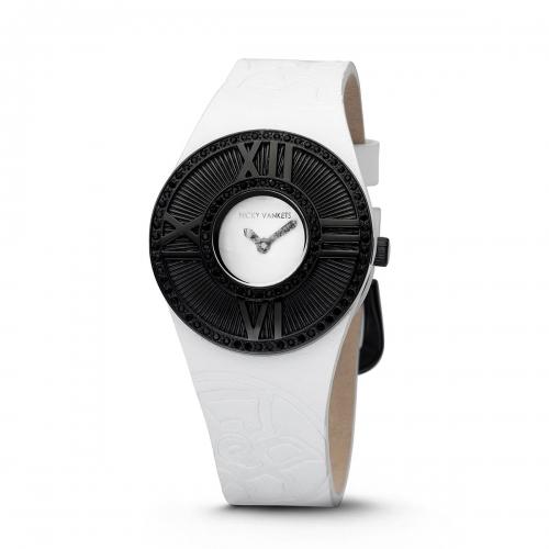 Nicky Vankets Black & White Watch