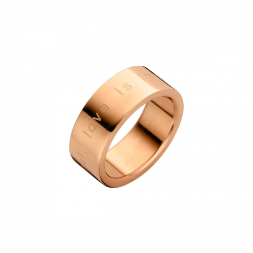 Nicky Vankets Love is Immortal Rose Gold Ring