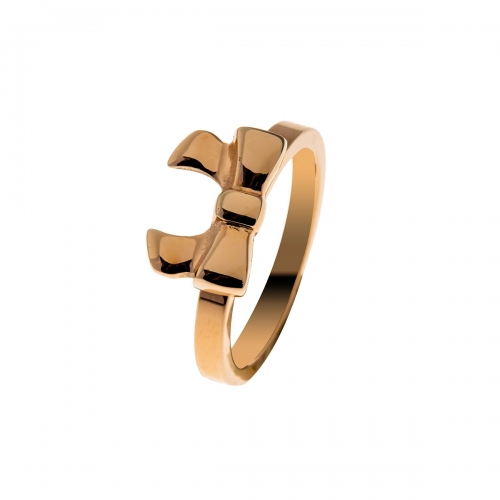 Nicky Vankets Dainty Bow Rose Gold Ring