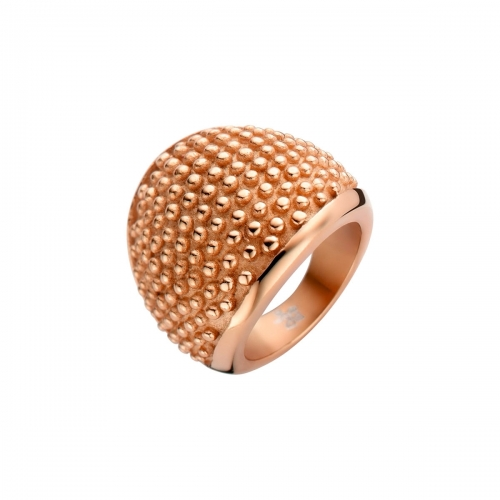 Nicky Vankets Textured Bobble Rose Gold Ring