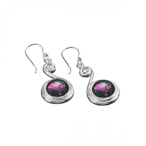 KAMELEON JewelPop Top Scroll Sterling Silver Earrings KE15