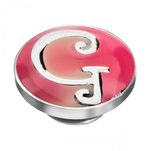 KAMELEON Letter G Sterling Silver Colour JewelPop KJP7