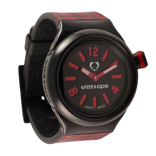 Wize and Ope Varsity  Black Shuttle Watch SH-VAR-1