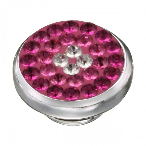 KAMELEON Pink Sparkle Sterling Silver JewelPop KJP50