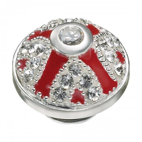 KAMELEON Ruby Crown Sterling Silver JewelPop KJP251