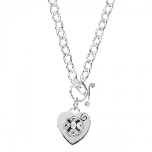 KAMELEON JewelPop Tiffany Style Silver Necklace KNK4